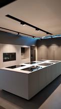 house4kitchen - Spanndecke über Ausstellungsbereich