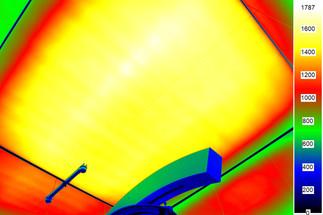 HAWK Tageslichtlabor - Leuchtdichte-Messung 3
