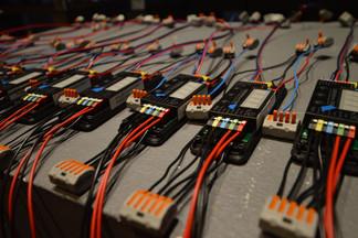 HAWK Hildesheim - Vorbereitung der LED-Steuerung