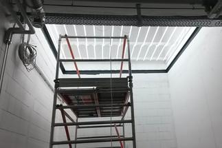 HAWK Tageslichtlabor - Unterkonstruktion