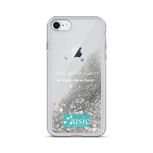 Tough As Forte Liquid Glitter Phone Case