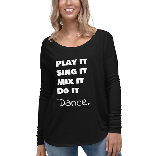 Dance Ladies' Long Sleeve Tee