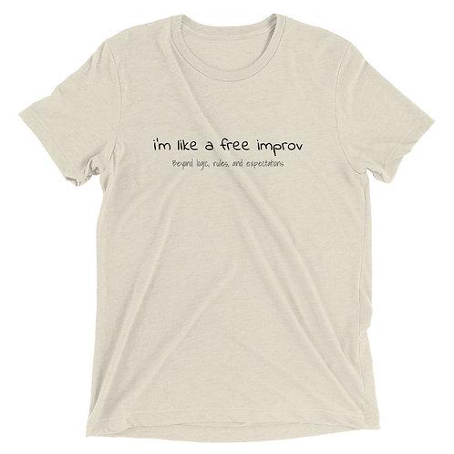 Free Improv Short sleeve t-shirt