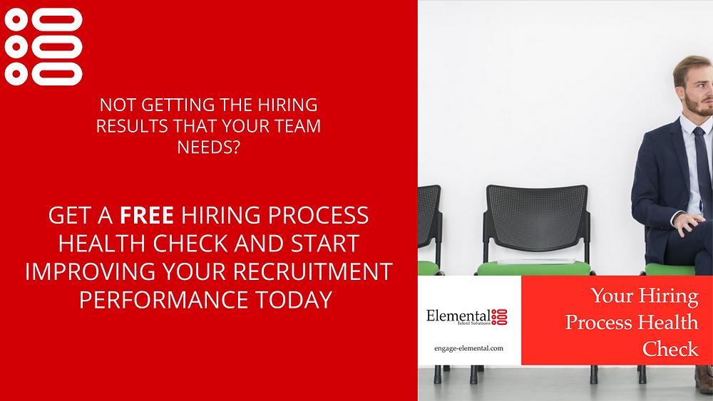 Free recruitment process audit