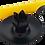 Thumbnail: Black Metal Rustic Candle Holder