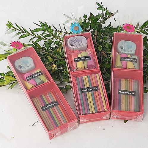 Mini Incense Gift Set - Red Box