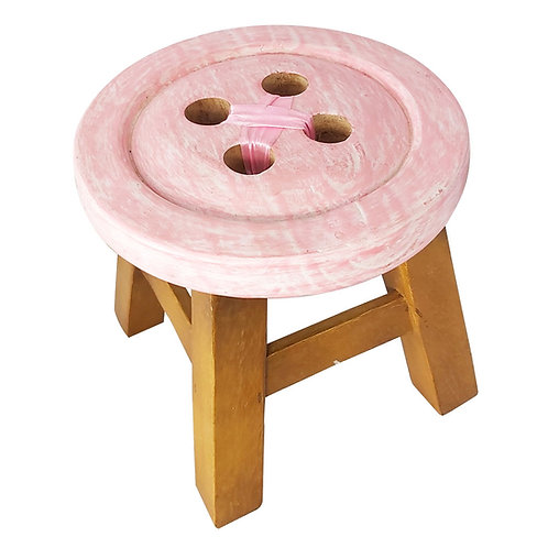 Stool Button pink