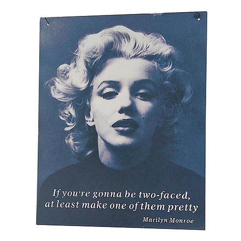 Marilyn Monroe Retro Wall Signs