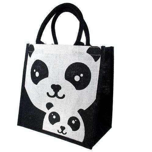 Panda Jute Bag