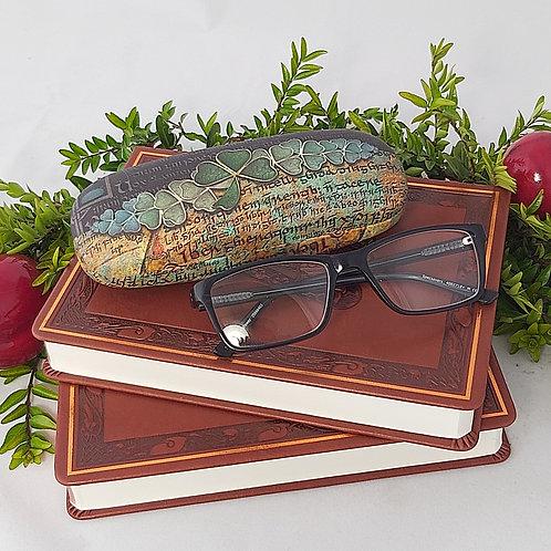 Shamrock Glasses Case