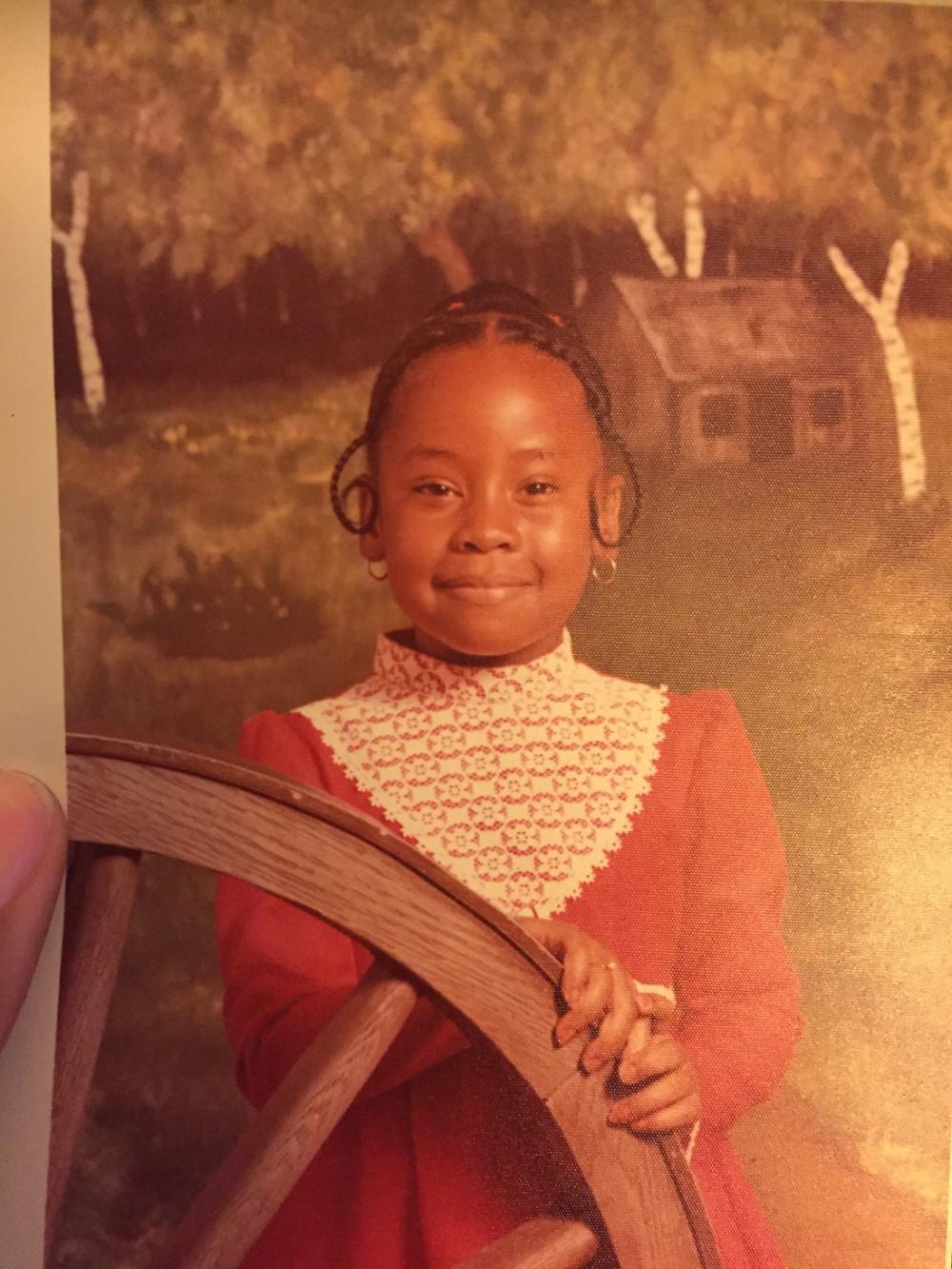 Tiffany at age 8
