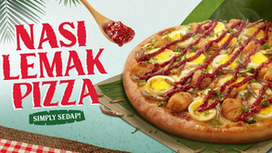 Pizza Hut Singapore's latest flavour: Nasi Lemak or Alamak?