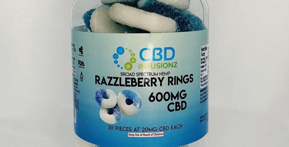 CBD Infusionz Razzleberry Rings