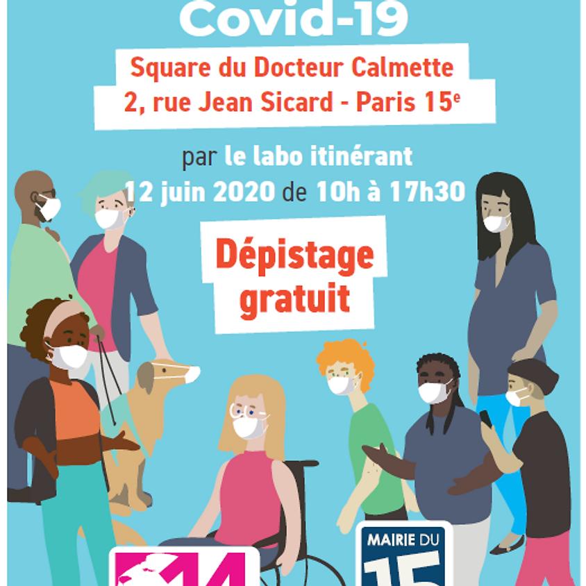 Dépistage Gratuit COVID-19