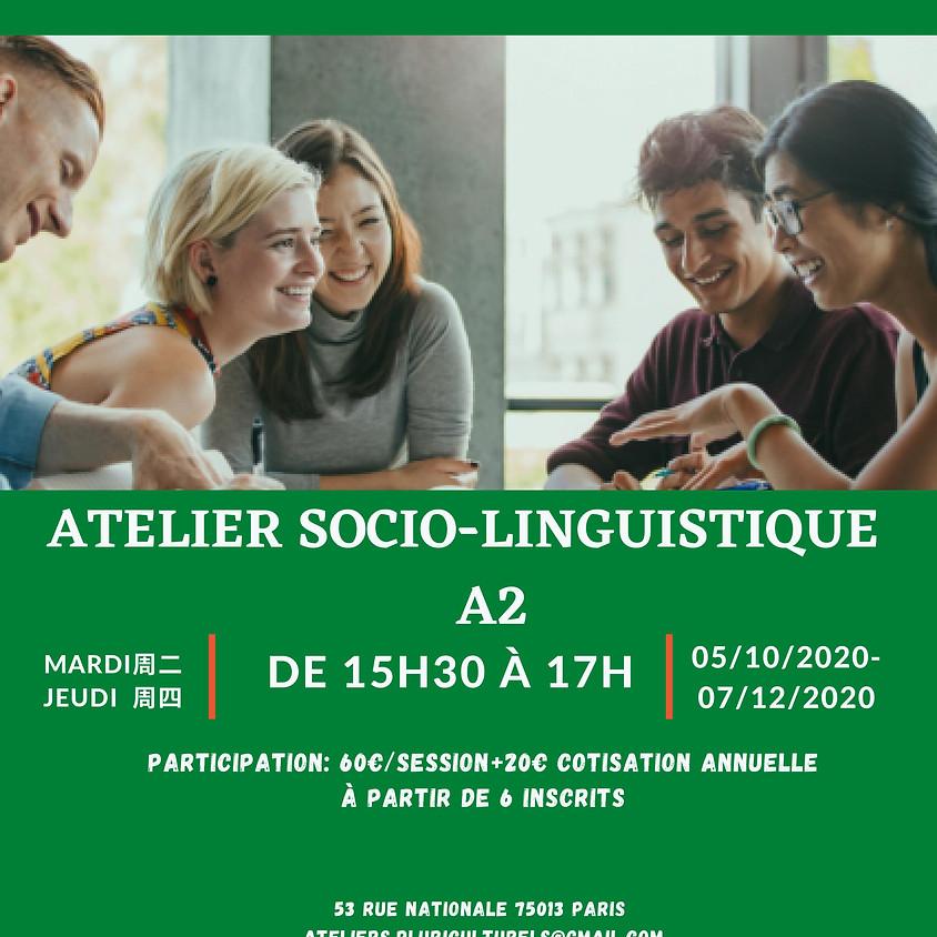 L'atelier socio-linguistique A2