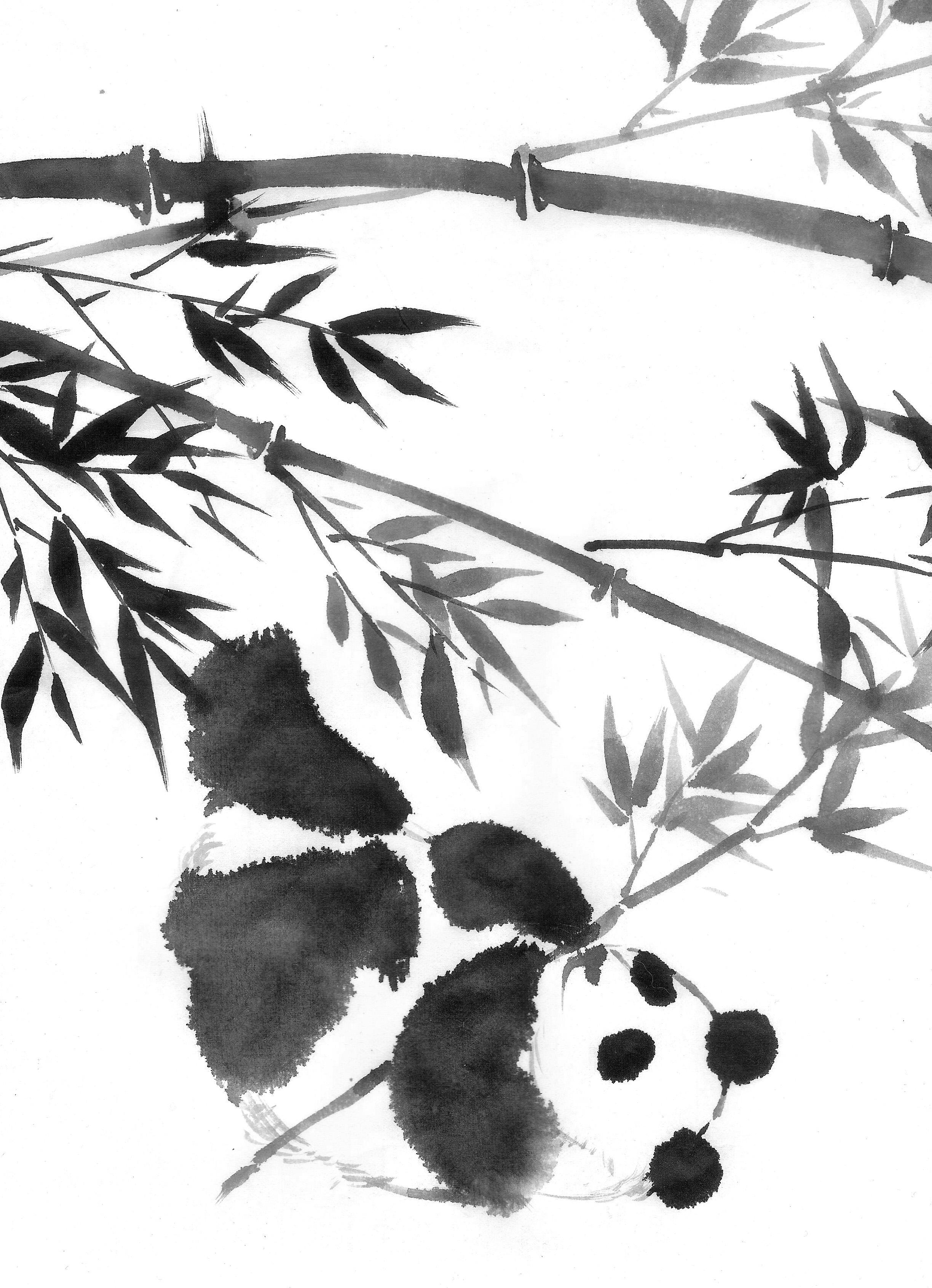 bamboo panda 001