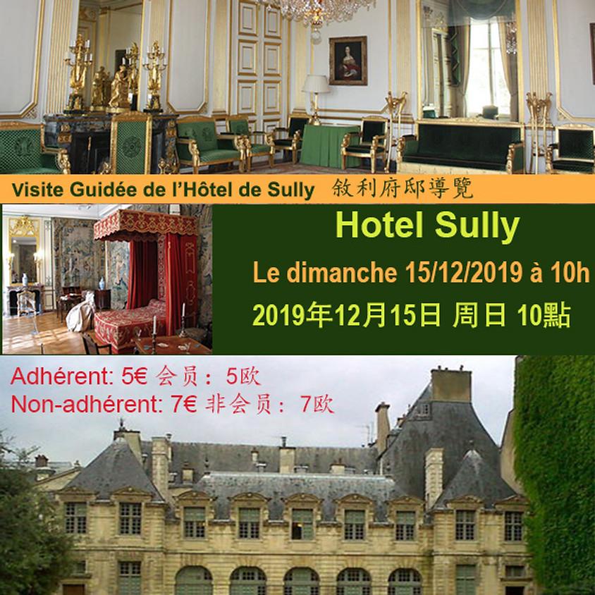 Visite Guidée de l'Hôtel de Sully  叙利亚府邸导览