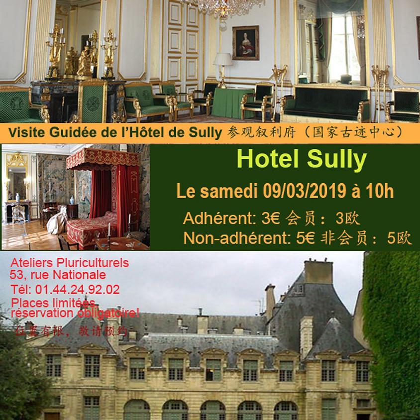 Visite guidée de l'Hôtel de Sully