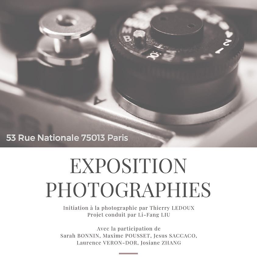 "Vernissage Photographie vue du 13e  ""聚焦13區"" 照片展開幕式"
