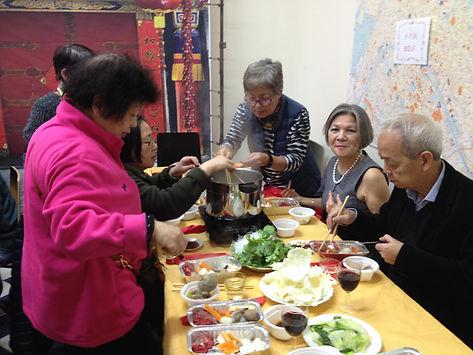 Fondue chinoise pour fêter le nouvel an chinois