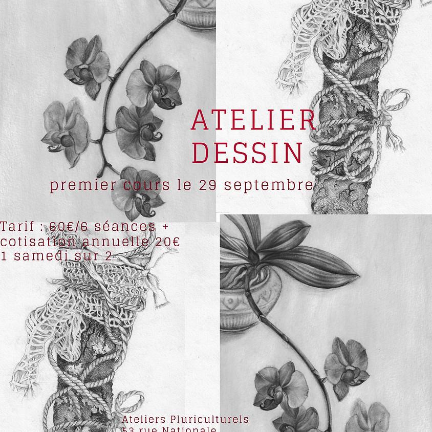 Cours de dessin De 10h30 à 12h30 西洋绘画课程