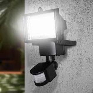 REFLETOR SOLAR DE 60 LED'S COM SENSOR MOVIMENTO