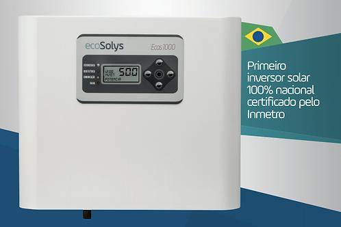 GERADOR DE ENERGIA SOLAR TELHA COLONIAL GEF-1060ECS 1,06 KWP MON
