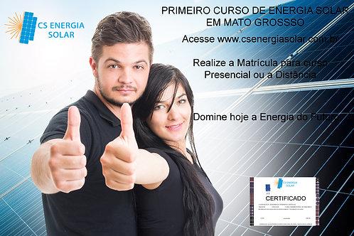 Noções Básicas Energia Solar - Presencial em Cuiabá