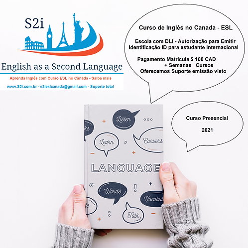 Curso English no Canada por Semana