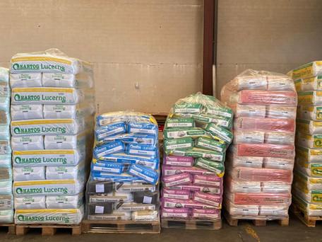 Los nuevos productos Alfava para alimentación equina.