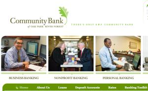 Community Bank Oak Park River Foirest