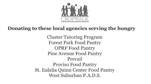 The Agencies We Support for the 2014 Crop Walk