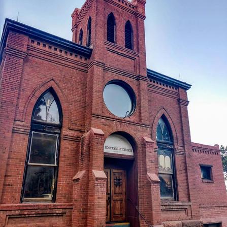 Jerome, Arizona - Historic Brick Church