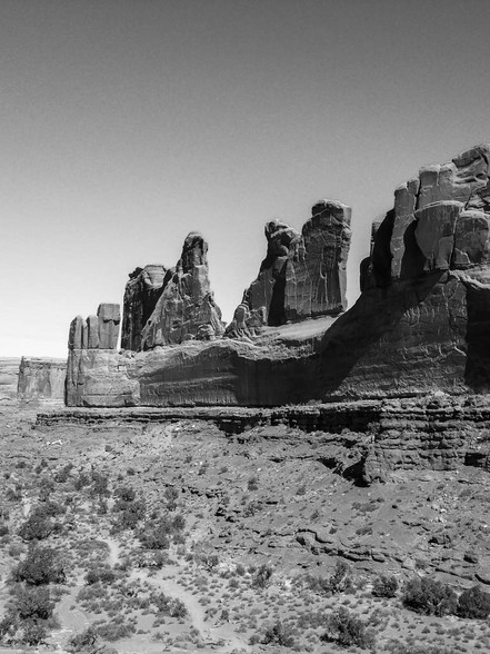 Arches National Park, Courthouse Towers