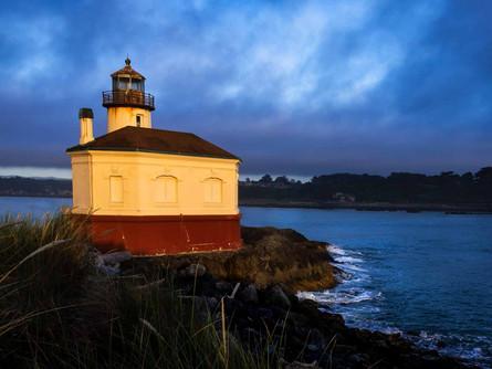 Bandon Oregon Coast - Coquille River Lighthouse