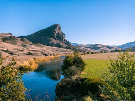 John Day River, Eastern Oregon - Hill Reflections
