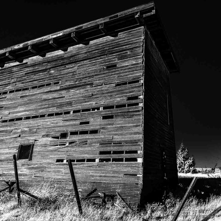 Shaniko, Oregon - Abandoned Wooden Water Tower