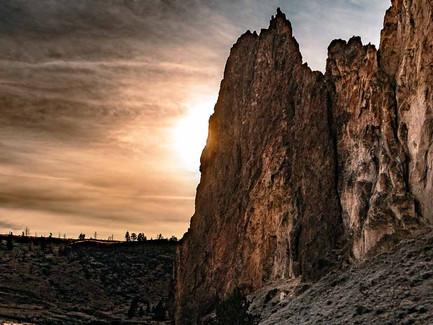 Smith Rock State Park Oregon - Sunset
