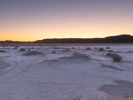 Alvord Desert, Oregon - Warm Sunset Glow