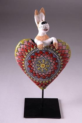 HEART BUNNY 2