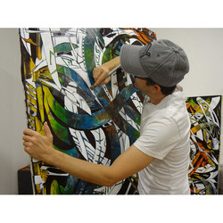 Chambon in the Studio