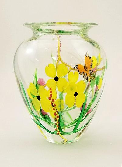 Dogwood bouquet vase