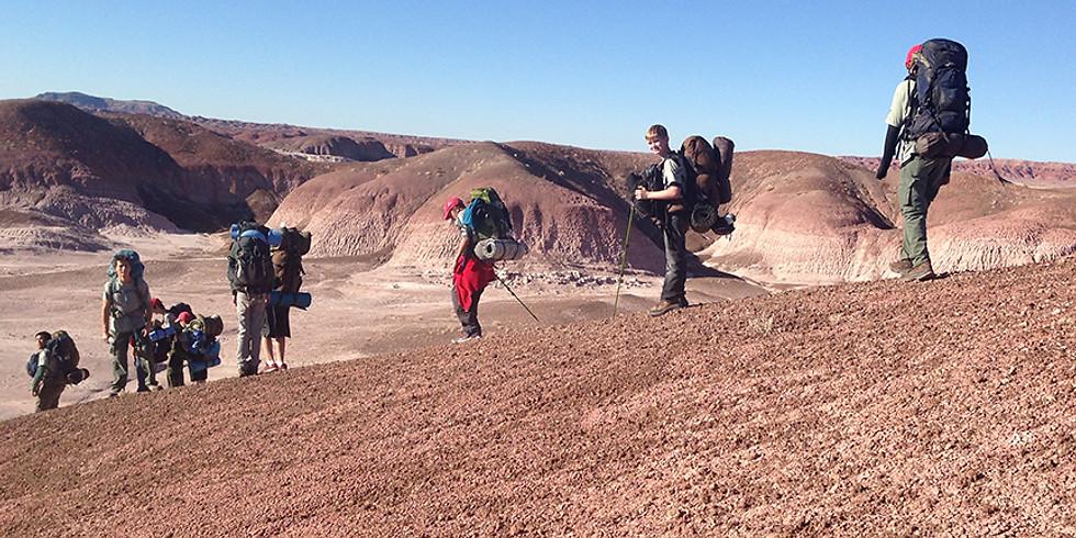 Painted Desert Backpacker