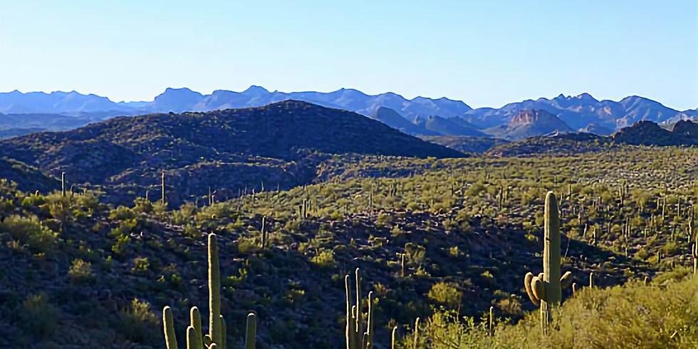 Superstition Mountains - Second Water Trail