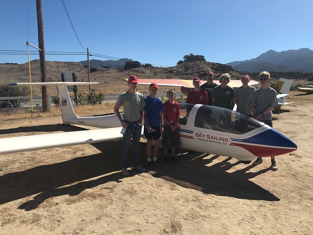 Camp Mataguay Glider Troop 109