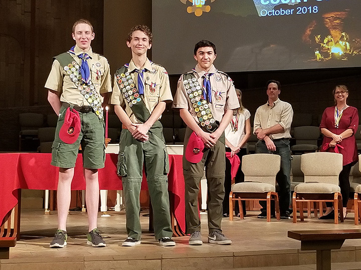 Troop 109 Eagle Scouts