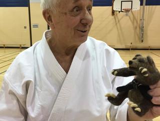 Joe and his Bear Award