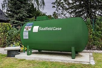 Saalfeld Flüssiggas in Tanks
