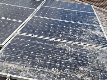 Dirty Solar Panel Brisbane