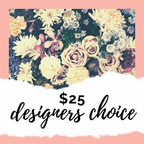 $25 Mixed Floral Arrangement